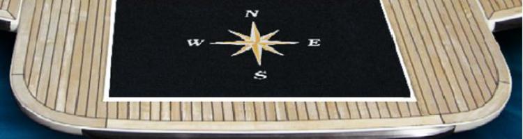 θαλαμηγός logo mat изтривалки с гумирана бяла основа ταπέτα με λογότυπο για γιοτ