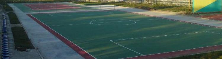външна спортна настилка монтаж на външни спортни настилки изграждане на игрище спортно външно