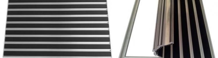 гума вложки алуминиеви изтривалки с гумени ленти