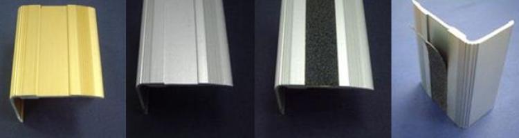 завършващ алуминиев профил за стъпало завършващ алуминиев ръб за стъпала