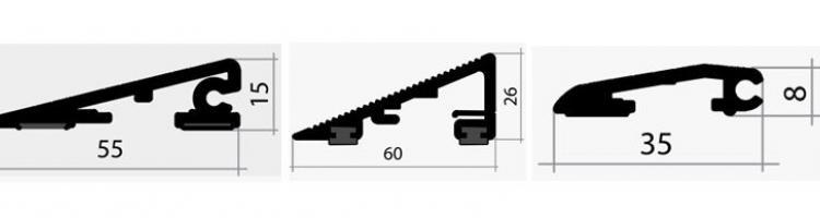 рампа за алуминиева изтривалка