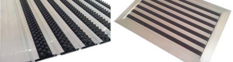 алуминиева изтривалка с четки тройна четка за изчеткване на груби замърсявания