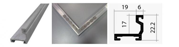 профил за вграждане за алуминиева изтривалка завършващ профил за вграждане на алуминиева изтривалка в легло на пода алуминиева рамка за изтривалки