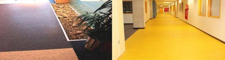 линолеум балатум мармолеум хомогенни настилки хетерогенни настилки настилка за  фризьорско студио настилка за СПА център