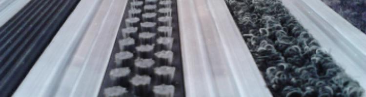 Нископрофилни алуминиеви изтривалки L 45 mm. алуминиева изтривалка без вграждане
