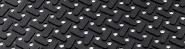 Клийн тру гумена изтривалка за кухни, ресторанти противохлъзгаща гумена изтривалка с дупки изтривалки от каучук с дупки гумени изтривалки вътрешно и външно ползване