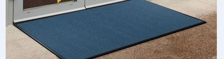 синя изтривалка с борд изтривалки за вход полипропиленови изтривалки изтривалка с гумена основа каучукова изтривалка с текстилни влакна