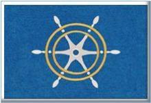 logo mat basis rubber изтривалка щурвал морски