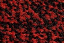 Black scarlet червена изтривалка с гумена основа и гумен кант червено черна изтривалка с гумен кант и каучукова основа