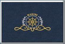 design yaht mat лого изтривалка за яхти кораби