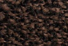 Black brown кафява изтривалка с гумен аоснова и гумен кант противохлъзгаща