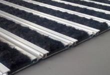 L45 brush active  алуминиеви изтривалки с нисък профил алуминиеви изтривалки без вграждане изтривалка от алуминиеви профили с вложки