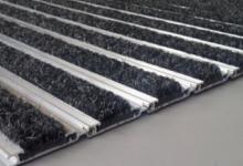 L45 carpet алуминиева изтривалка без вграждане алуминиеви системни изтривалки с мокет и гума