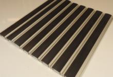 HD40 rubber алуминиеви изтривалки с гума изтривалки по поръчка с алуминиеви профили с вложка гума алуминиев профил с гума