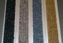HD60 carpet мокетена алуминиева изтривалка изтривалка с мокетени вложки алуминиеви изтривалки с мокет за вграждане входни изтривалки с профили и вградени вложки изтривалки от алуминий с мокет изтривалка от алуминиеви профили с гума