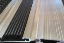Алуминиева рампа за нископрофилни изтривалки рампа за подове