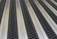 алуминиева система профил гума гума с четки алуминиева изтривалка с полиамидни четки