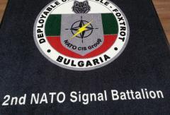 лого килим с изображение и надписи, килим с картинка