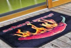 лого изтривалка Хромоджет изтривалка за магазин изтривалка за вход