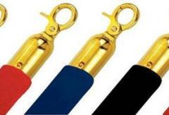 въжета за колчета въже за разделителни колонки въже с катарами за разделителни пилони колчета с въжета под наем