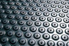 Анти умора настилка гумена подложка с балончета настилка за производствени цехове помещения