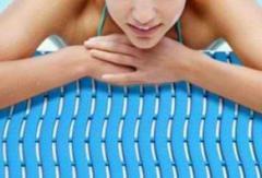 Настилка за басейни настилка на руло за поставяне около басейни